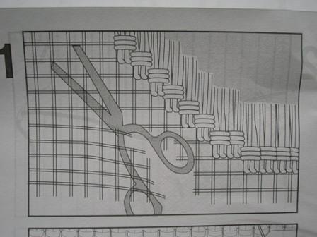 Ковровая вышивка. Шаг2