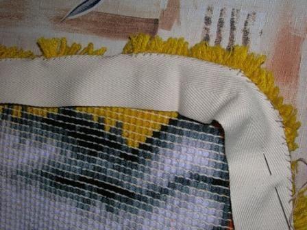 Ковровая вышивка. Шаг 5