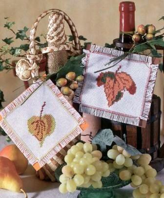 Декоративные листочки