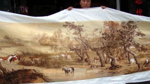 Самая длинная вышивка в мире 3