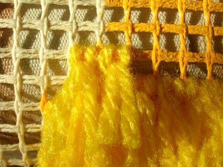 Ковровая вышивка. Шаг 7