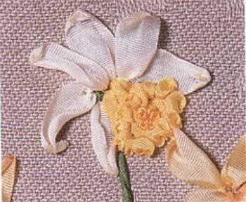 Рюши по краям цветка