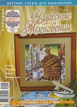 Чудесные мгновения Ручная вышивка №1 2010 год