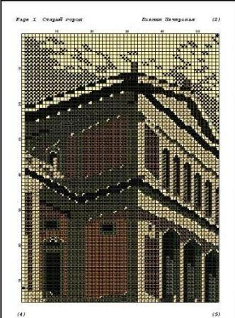Печать схемы в программе Pattern Maker