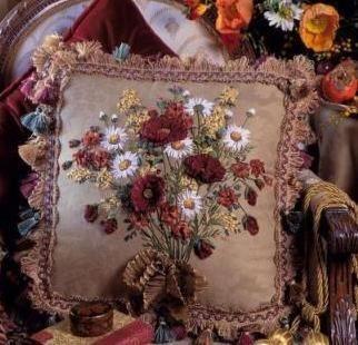 Полезные советы. Сочетание вышивки лентами с другими видами рукоделия