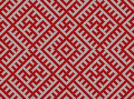 Народная вышивка русского севера