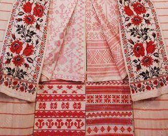 Народная вышивка центральных районов России