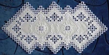 Традиционная скандинавская вышивка - Хардангер