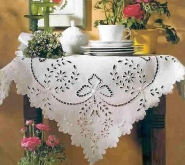 Виды вышивки: Вышивка Ришелье