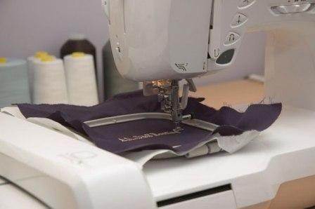 Машинная вышивка. Особенности шитья нитками мулине и люрексом