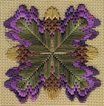 Флорентийское шитье или барджелло