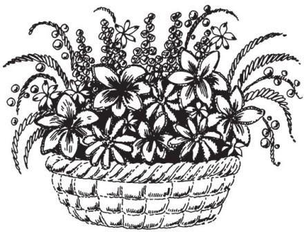 Рисунок 4. Смешанный стиль объемной вышивки