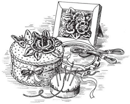 Основные приемы Объемной Вышивки