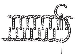 Рисунок 10. Двойной краеобметочный шов