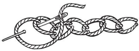 Рисунок 15. Зигзагообразная тамбурная цепочка