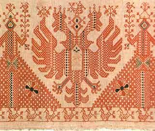 Вышивка Каргополья