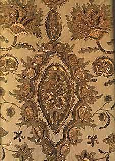 гладевые каргопольские вышивки