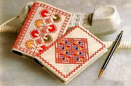 Совеременная каргопольская вышивка