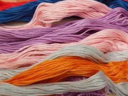 Виды ниток мулине для вышивания