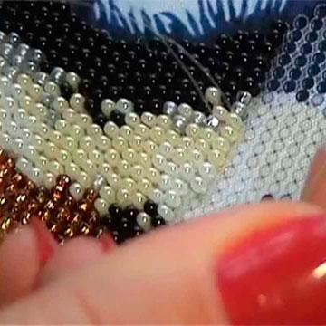 Вышивка бисером Виды швов